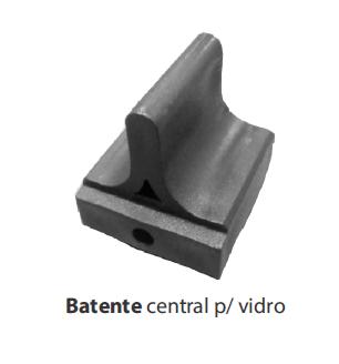 BATENTE CENTRAL P/ VIDRO