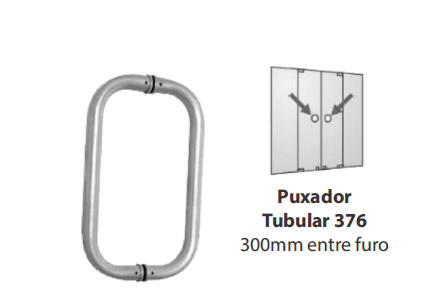 PUXADOR TUBULAR 376