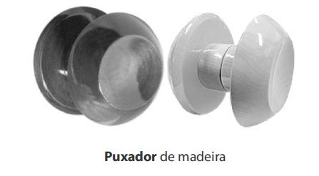 PUXADOR DE MADEIRA