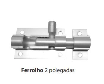 FERROLHO 2 POLEGADAS