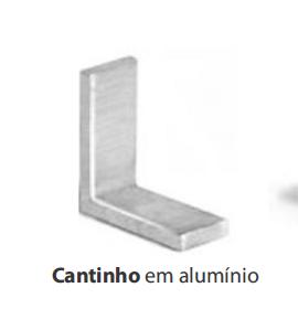 CANTINHO EM ALUMINIO