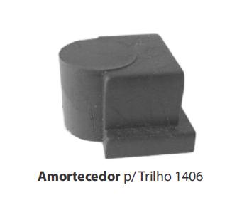 1406 - AMORTECEDOR P/ TRILHO
