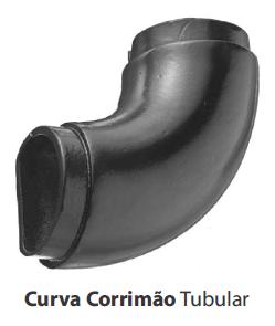CURVA P/ CORRIM�O TUBULAR