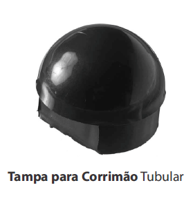 TAMPA P/ CORRIM�O TUBULAR